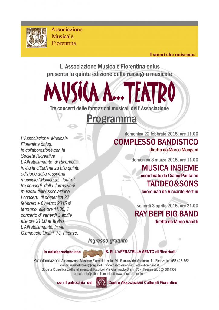 AMF musica a teatro  2015