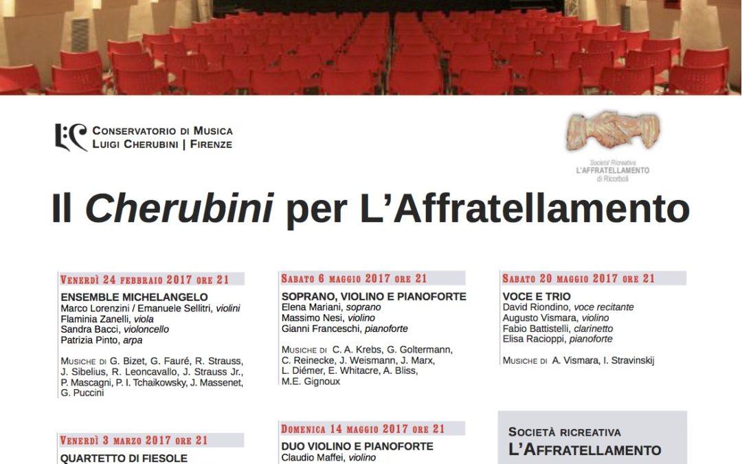 Il Cherubini per L'Affratellamento (Concerti 2017)