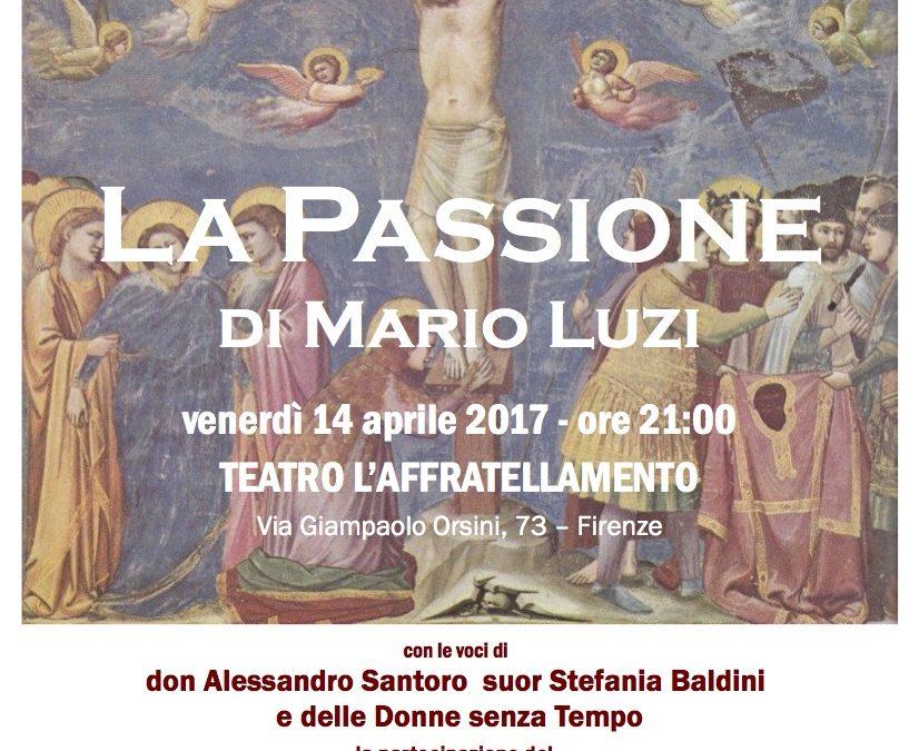 """""""La Passione"""" di Mario Luzi"""