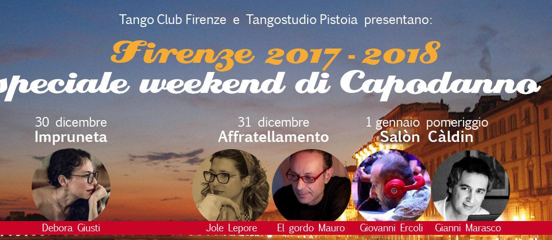 Speciale Capodanno in Tango a Firenze 2018