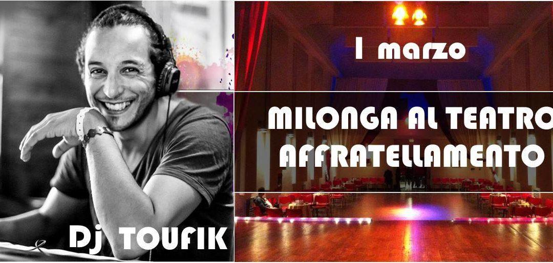 ToSCA Marathon 2018, Milonga. Tango club con Dj Toufik