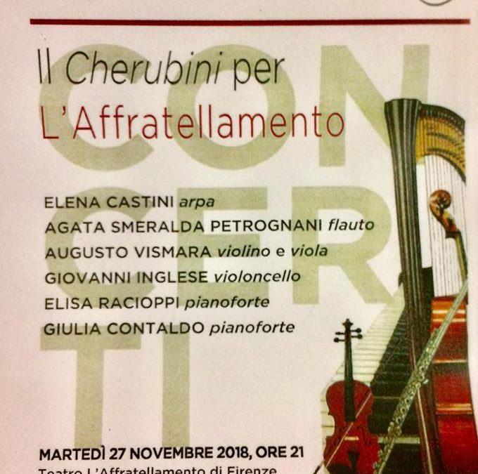 Il Cherubini per L'Affratellamento (Concerti 2018)
