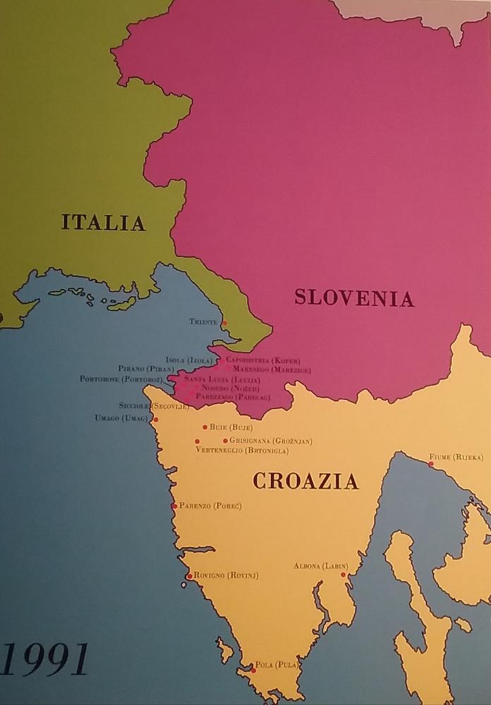 Portorose Slovenia Cartina Geografica.Un Giorno Per Il Ricordo 10 Febbraio Teatro L Affratellamento