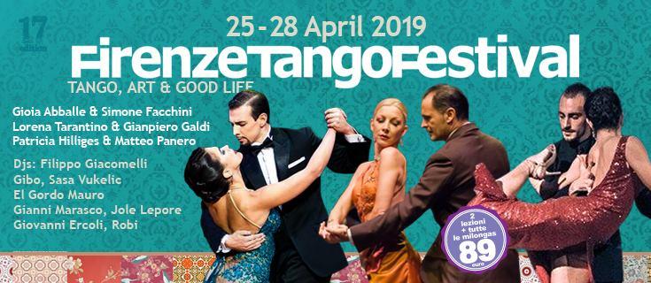17° Firenze Tango Festival | 25 > 28 Aprile 2019