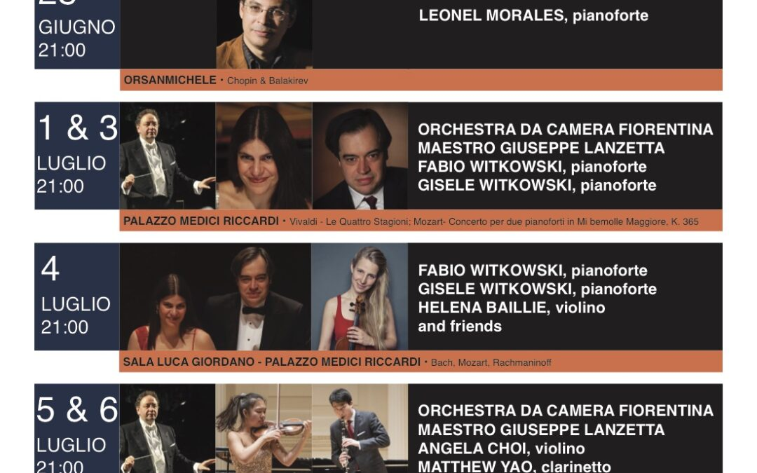 Hotchkiss in Florence Music and Arts Festival ed. 2019 (concerto)