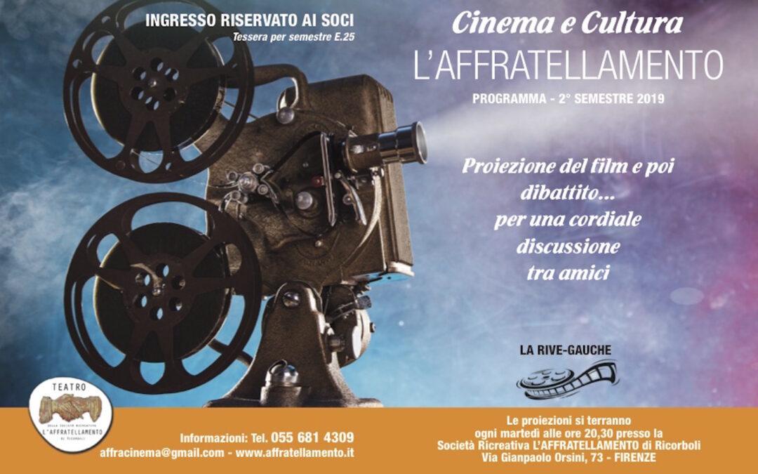 Rive Gauche CINEMA a L'Affratellamento 2019-2020