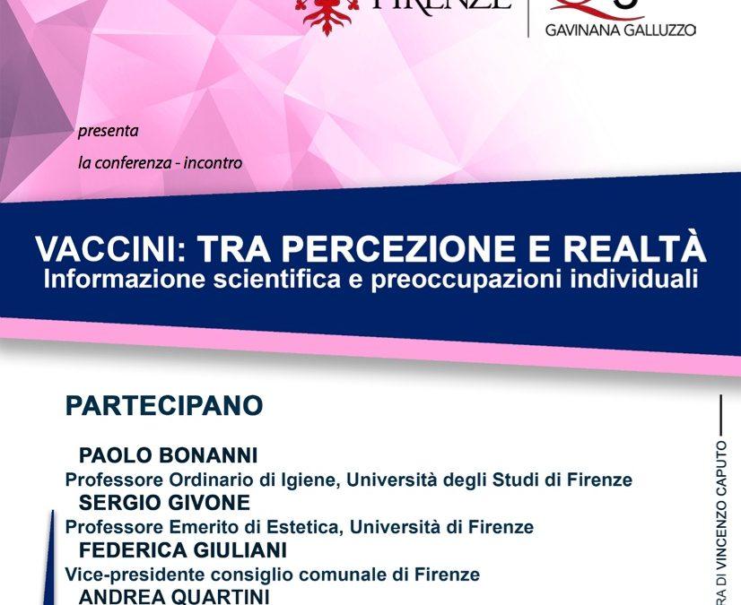 VACCINI: TRA PERCEZIONE E REALTÀ (conferenza)
