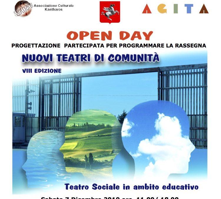 NUOVI TEATRI DI COMUNITÀ – VIII edizione • Open Day