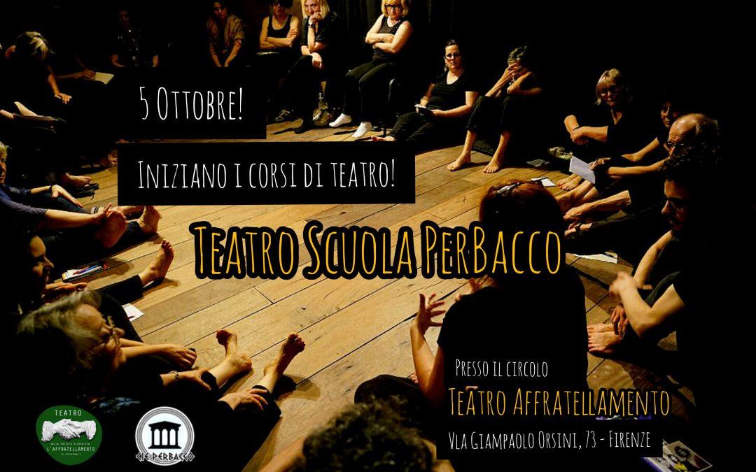 PerBacco, Corsi di Teatro • 5 Ottobre 2020